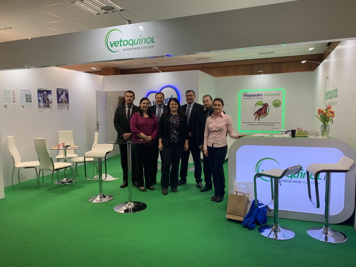 Vetoquinol team na VETfairu 2019